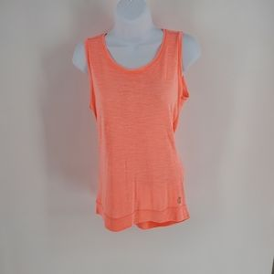 Balance Collection Melon twist open back tank Med